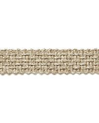 Bertrand Linen Braid String by  Schumacher Trim