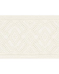 Avalon Tape Ivory by  Schumacher Trim
