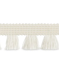 Bell Fringe Ivory by  Schumacher Trim