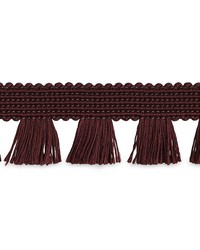 Bell Fringe Wine by  Schumacher Trim