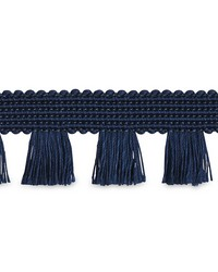 Bell Fringe Navy by  Schumacher Trim