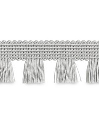 Bell Fringe Silver by  Schumacher Trim