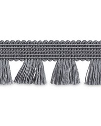 Bell Fringe Grey by  Schumacher Trim