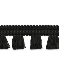 Bell Fringe Black by  Schumacher Trim