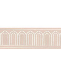 Arches Embroidered Tape Blush by  Schumacher Trim