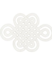 Good Luck Knot Applique Ivory by