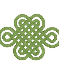 Good Luck Knot Applique Jade by