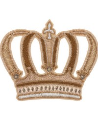 Crown Applique Gold by