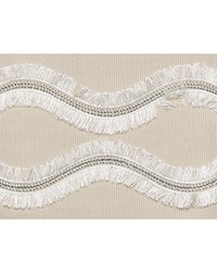 Ogee Embroidered Tape Neutral by