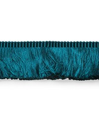 Francois Silk Brush Fringe PeaCOCK by