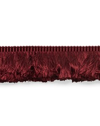 Francois Silk Brush Fringe Burgundy by