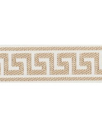 Etienne Silk Greek Key Narrow Sand by