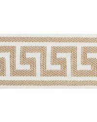 Etienne Silk Greek Key Sand by