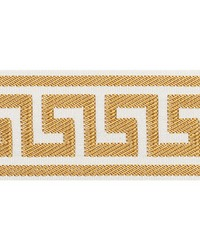 Etienne Silk Greek Key Gold by