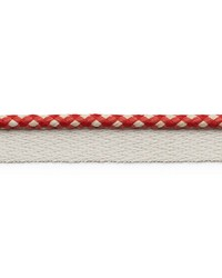 Keaton Lip Cord Red by