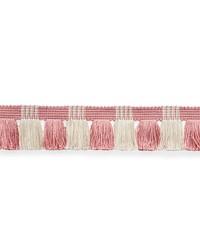 Juno Fringe Pink & Ivory by