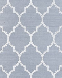 Algiers Sisal Chambray by  Schumacher Wallpaper
