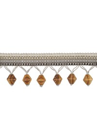 03322 Pewter Beaded Trim by