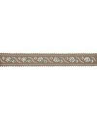 03615 Taupe Tape Braid Beaded Trim by