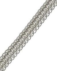 Silver Gimp Trim  03932 Platinum