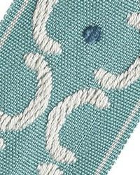 Blue Fabric Trim Border  01872 Peacock