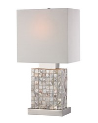 Mini Mother Of Pearl Lamp by