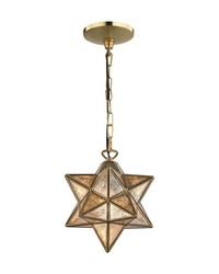 Moravian Star Pendant - Gold by