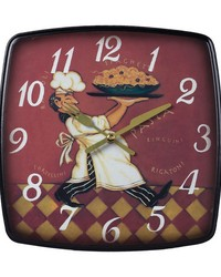 Busy Chef Clock by