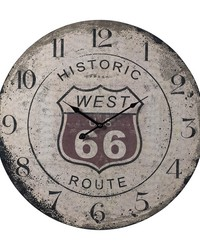 Route 66 Clock by