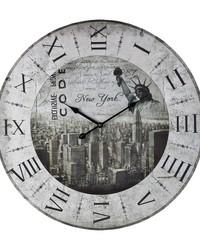 New York New York Clock by
