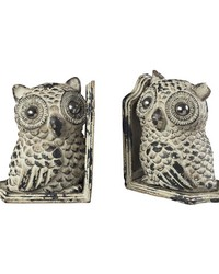Owl Book Ends by