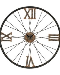 Iron Wall Clock by