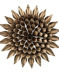 Metal Dandelion Wall Decor by
