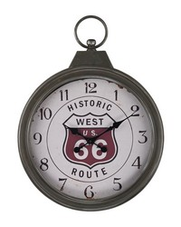 Fob Style Route 66 Clock by