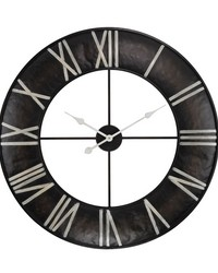Open Ring Wall Clock by