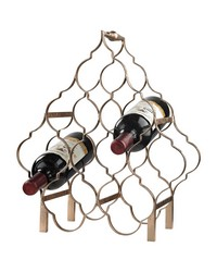 Quatrefoil Wine Rack by