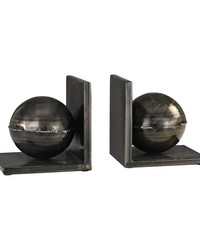 Fugue Holmes Bronze 6-Inch Set of 2 Metal Bookends by