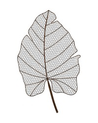 Wire Palm Frond Wall Decor by