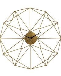 Angular Wirework Wall Clock by