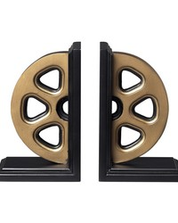 Movie Reel Book Ends by