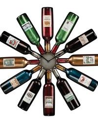 Wine Bottle Clock by