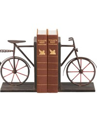 Pair Bicycle Bookends by