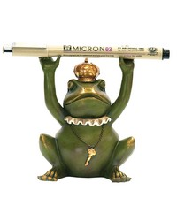 Superior Frog Gatekeeper Pen Holder by