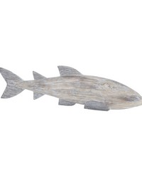 Cocos Island Wooden Whale by