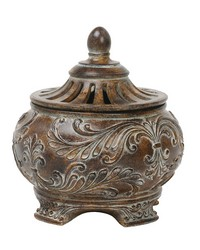 Fortress Lidded Bowl by