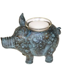 Little Pig Votive Candle Holder by