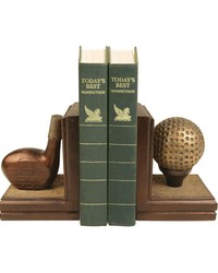 Pair Brunstfield Links Bookends by