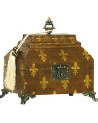 Fleur De Lis Broach Box by
