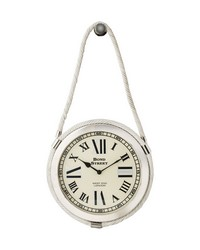 Brass Rope Clock by