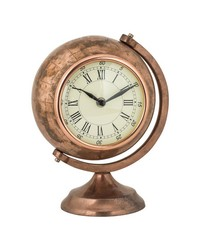 Table Top Clock Globe by